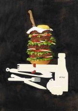 Hamburger XXL by Joyce Balk