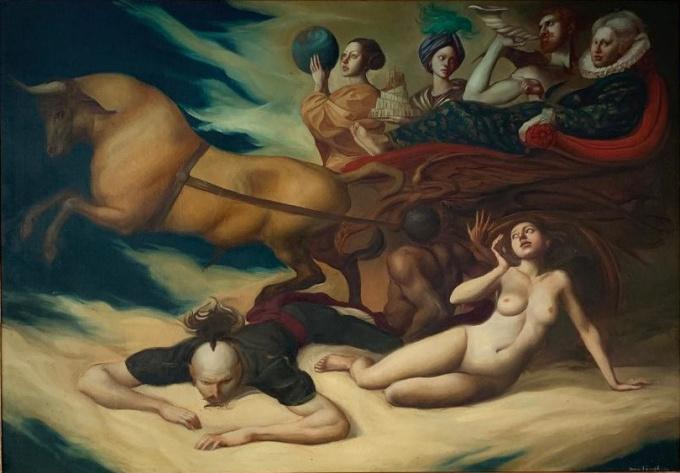 Studio per la Regina by Giovanni Tommasi Ferroni