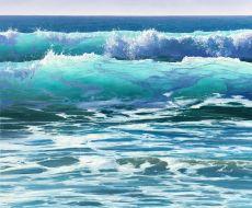 See It Original oil panting 100 x120cm y 2020  by Erika Toliusis