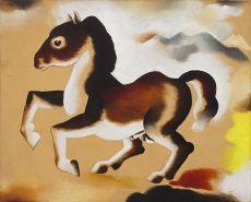Dravend paardje by Tinus van Doorn