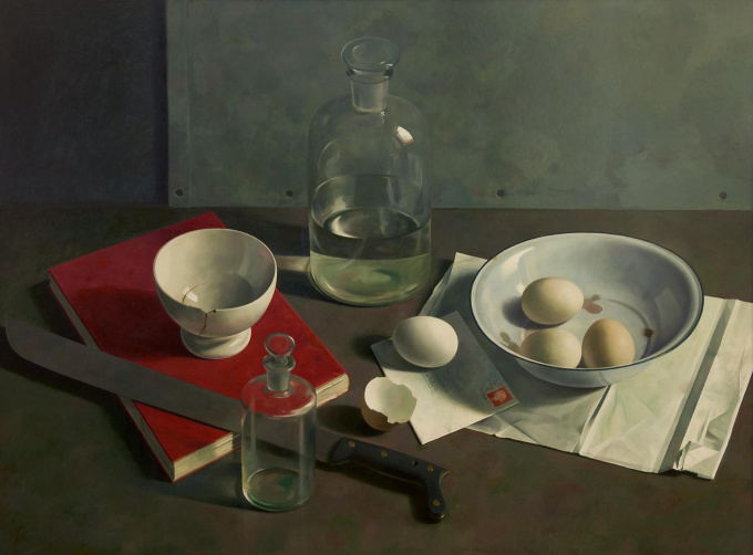 Still life with a letter by Henk P.N. Helmantel