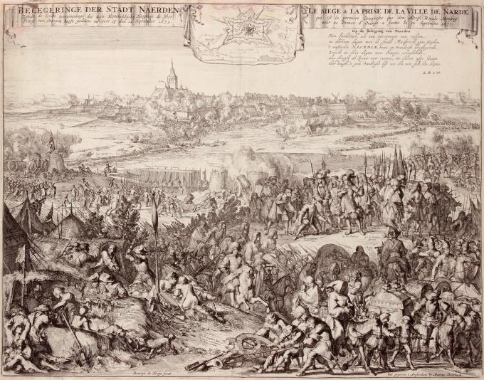 Beleg van Naarden by Romeyn de Hooghe