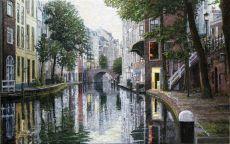 Oudegracht Utrecht 1 by Willem van der Hofstede