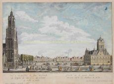 De Markt te Delft  by  Iven Besoet