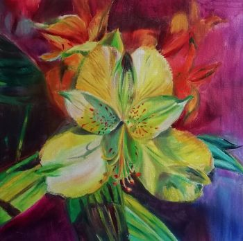 Flower by Magdalena Chmielek