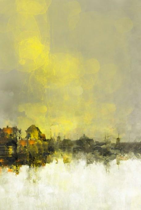 Wendingen - geel (Turns - yellow) by Frank Vogt