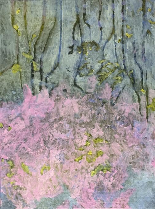 Het kleine landschap 2  by Mirian Jacobs