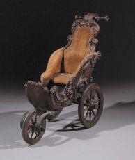 A Dutch perambulator by Unknown Artist