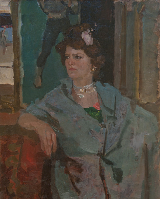 Cabaret Performer by Isaac Israels