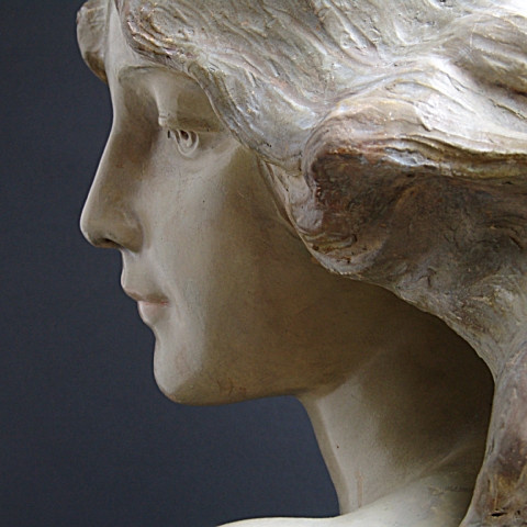 Bust of woman  by Lesca Goldscheider