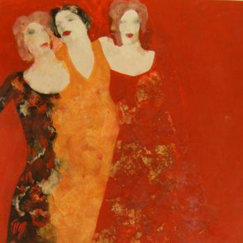 Drie vrouwen by Julia Ninio