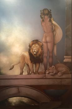 Spirit of Africa by Michael Parkes