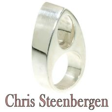Artist Jewelry by Chris Steenbergen silver ring by Chris Steenbergen
