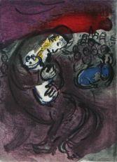 Les Pleurs de Jeremie by Marc Chagall