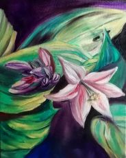 Flower III by Magdalena Chmielek