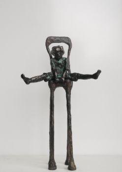 Epke (krullebol op stoel) by Cher Mattijssen