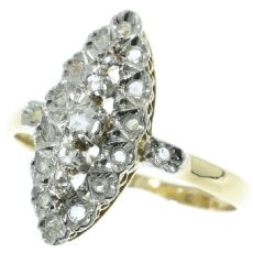 Estate Vintage diamond ring by Unknown Artist