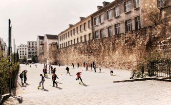 Kids in Le Marais by Jack Marijnissen