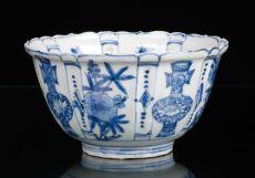 Wan Li Kraakporcelain Bowl, China Jingdezhen