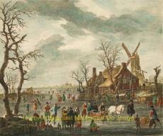 AANGENAME VERPOZING TIJDENS DE HOLLANDSE WINTERS by Conti, Carl
