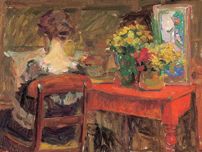 Lady Lisante by Ernest Jean Joseph Godfrinon