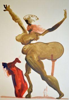 Divina commedia inferno 33 by Salvador Dali
