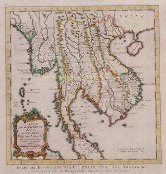 Southeast Asia, Myanmar, Thailand, Laos, Vietnam  by  Jan van der Schley