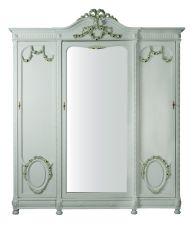 Louis XVI Style 3-Door Armoire by Unknown Artist