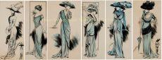 MODE WEELDE ANNO 1908-1910    by Behr, Olga