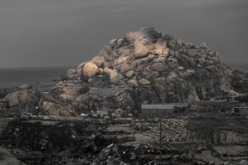 ''Living on the rocks'' by Zhong Qin
