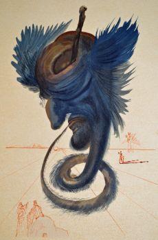 Divina commedia inferno 20 by Salvador Dali