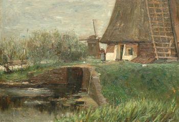 Windmills by Albert Roelofs