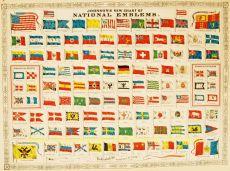 Flag chart  by  Alvin J. Johnson