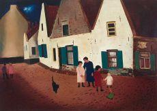 Scheveningen by Ferdinand Joseph (Ferry) Slebe