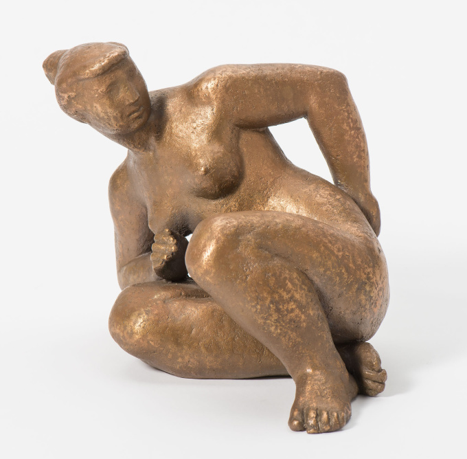 Seated Nude by Joop Hekman