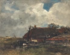 La Chaumiere, ca. 1885 by Jacob Maris