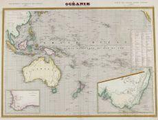 Oceania - Australia map by Charles V. Monin,