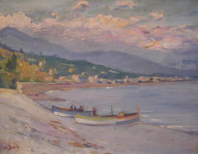 Bretonse kunst/Coast of French Brittany by Anna Boch