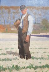 Portrait of a Farmer by Ferdinand Hart Nibbrig