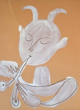Faune Blanc by Pablo Picasso