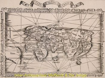 World antique map  by  Laurent Fries