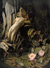 Lost Narcissus by Lodewijk Bruckman
