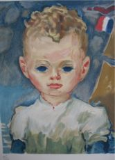 Jean-Marie in the Harbour by Kees van Dongen