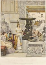 A Sculpture Gallery by Lawrence Alma-Tadema
