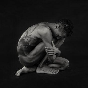 Restrained Man by Natascha Hemke