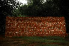 Brick Wall, by Shen Wei