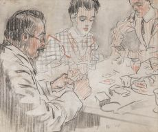 Playing cards by Leo Gestel