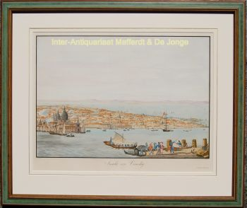 Venice after Zygmunt Vogel by  Christian Gottlob Hammer