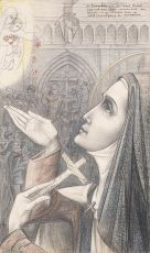 The Holy Theresia by Jan Toorop