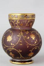 Daum small vase Artichauts by Daum Frères